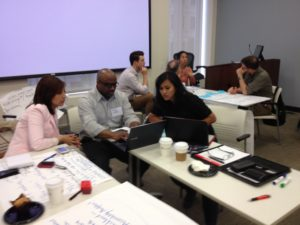 UCP Innovation Lab participants