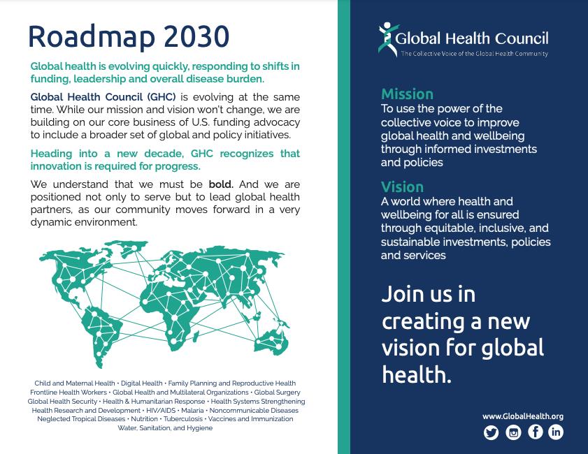 Global Health Council Roadmap p1