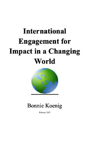 International Engagement for Impact in a Changing World by Bonnie Koenig